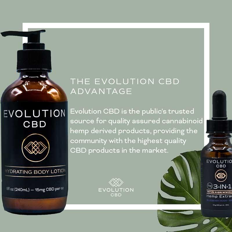 Explore The Evolution CBD Advantage
