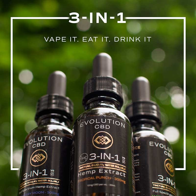 Clearing Up Evolution CBD 3-in-1 Nano Formula