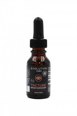 Evolution Terpene Rich Hemp Oil Tincture THC Free