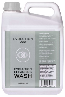 1 Gallon Evolution Cleansing Wash